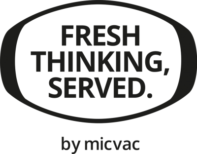 Micvac motto - Fresh thinking, served