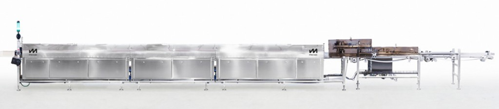 The module-based microwave tunnel is designed and developed especially for the Micvac food process