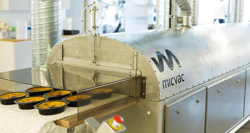 Micvac chilled ready meals preparation and packaging line