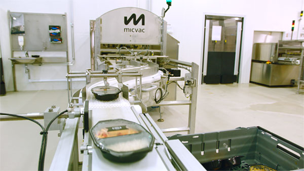 The Micvac microwave tunnel is a result of continuous development to ensure the best food quality