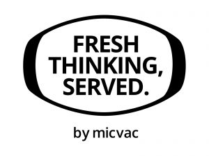 Micvac Motto - Fresh Thinking, Served.