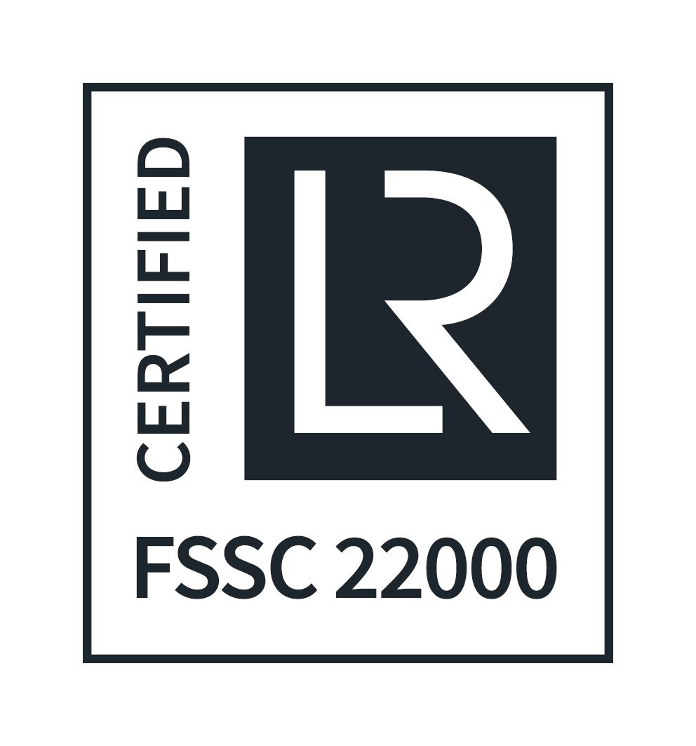 FSSC 22000 - CERTIFIED logo