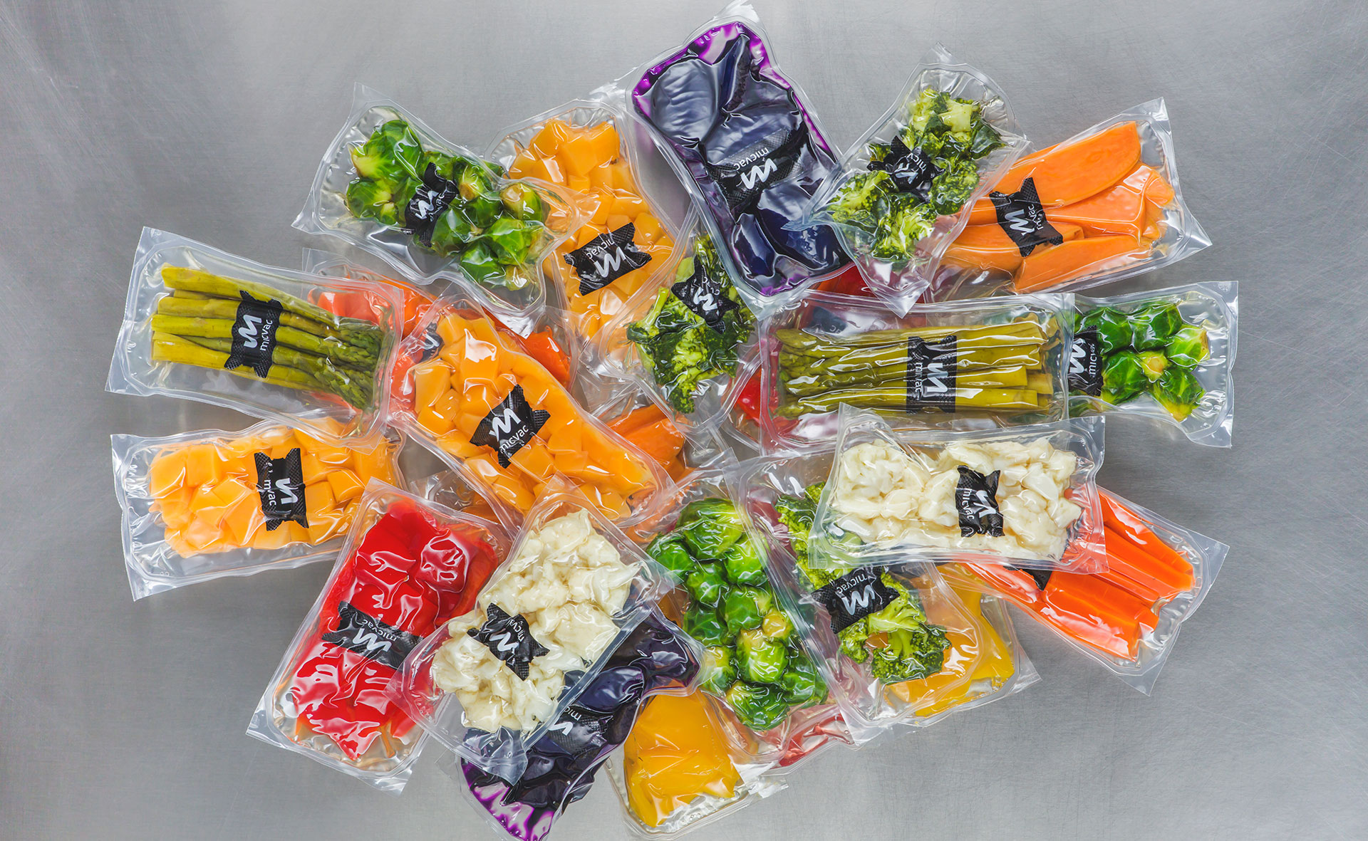 The Micvac method is also suitable for thermoformed food packages and pouches